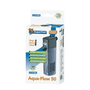 Superfish aqua flow 50 filter for Small fish tank filter
